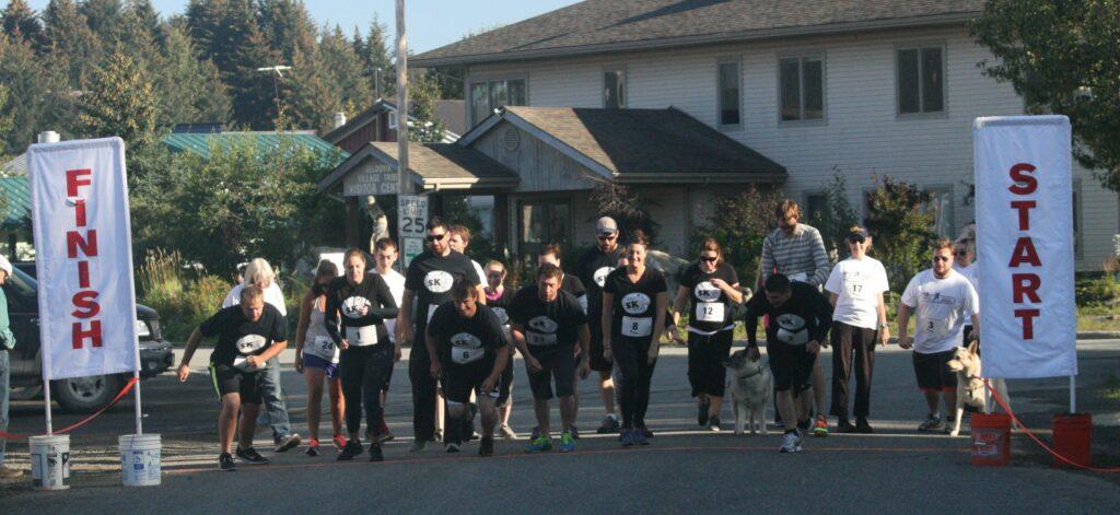 Start of the Mini Marathon - photo by Chris Crosta