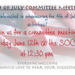 Independence Day Planning Meeting on Friday