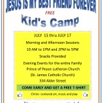 Vacation Bible School in July