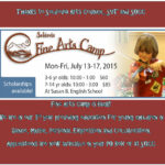 Fine Arts Camp July 13-17
