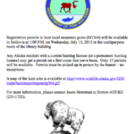 Goat Hunt Registration Permits Available