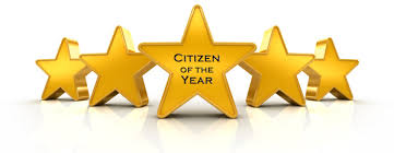 CITIZEN OF YEAR BANNER