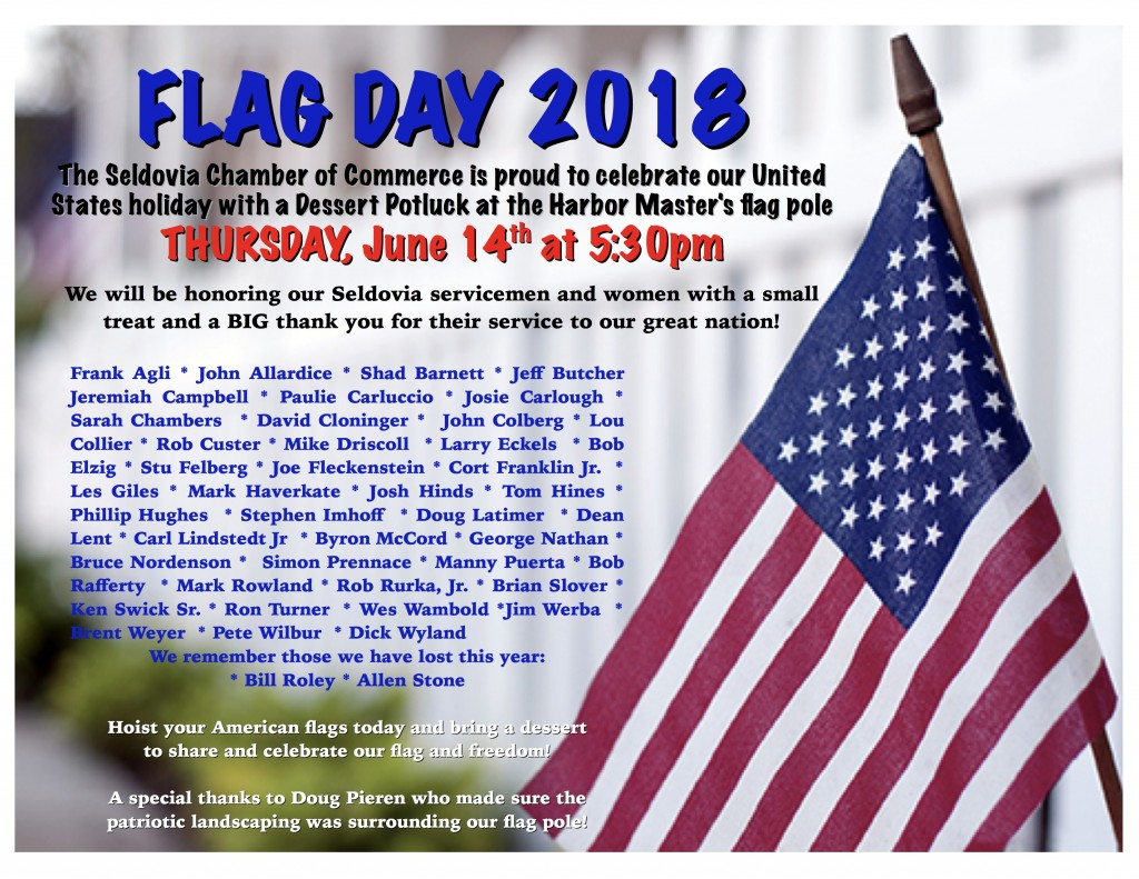 Flag Day Dessert Potluck