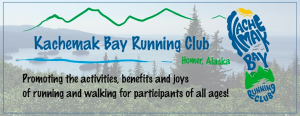 Kachemak Bay Running Club Logo
